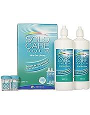 Menicon Solo Care Aqua verzorgingsmiddel voor zachte contactlenzen, Systempack 2 x 360 ml, per stuk verpakt (1 x 720 ml)