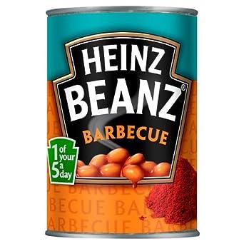 Heinz Beanz BBQ 6x390g