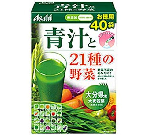 アサヒ 青汁と21種の野菜(3.3g×40袋)6箱セット B015FGRVZU