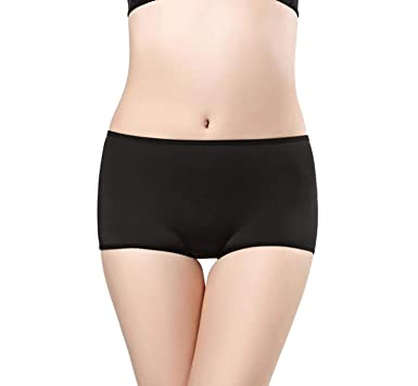 e7492d09be6b XOKIMI Women Boyshorts Briefs Slimming Tummy Control Underwear Waist  Trainer Panties Shapewear at Amazon Women's Clothing store:
