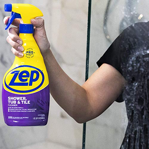 Zep Shower Tub and Tile Cleaner 32 Ounce ZUSTT32 (Case of 12)
