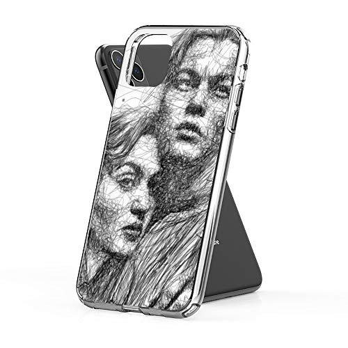 Case Phone Anti-Scratch Cover Motion Picture Titanic is A 1997 Production Scenario That was Epic Ro Movies (6.1-inch Diagonal Compatible with iPhone 11)