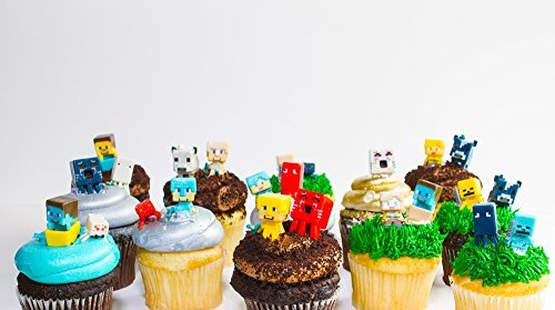 MINECRAFT Cupcake toppers 24 random figures for $<!--$23.95-->