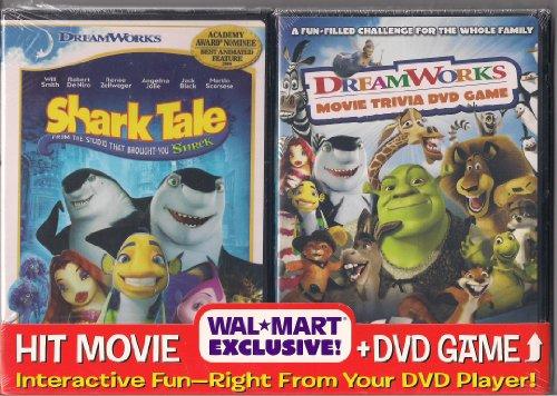 Shark Tale + Bonus DreamWorks Interactive Movie Trivia DVD Game