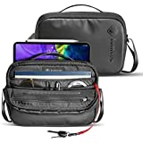 tomtoc Shoulder Bag for 2020 New iPad Pro 11-inch, Messenger Bag for 10.5 inch iPad Air, iPad Pro, 9.7 iPad, Microsoft Surface Go, Crossbody Bag with Smart Organization for Accessories and Essentials