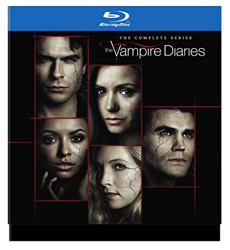 Blu-ray : The Vampire Diaries: The Complete Series (Gift Set, Boxed Set, 30 Disc)