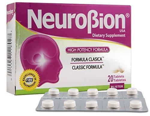 Amazon.com: Neurobion Classic 20 Tablets Vitamin B Energy Booster - Formula Clasica: Health & Personal Care