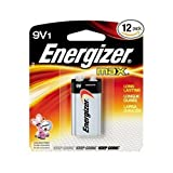 Eveready 9V Max CD1 Battery, Silver