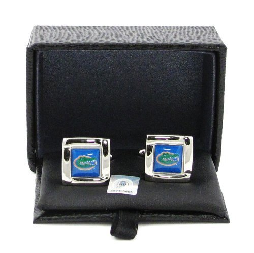 NCAA Florida Gators Square Cuff LinksSquare Cuff Links, Team Color, 4 (Florida Gators Square)