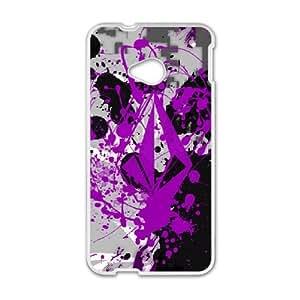 Volcom Volcom HTC One M7 Cell Phone Case White GYK0K3K8