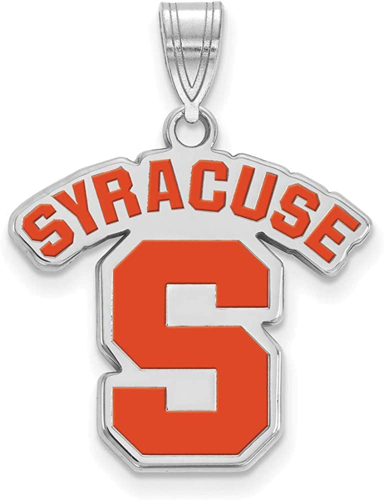 Necklaces Solid 925 Sterling Silver Official Syracuse ...