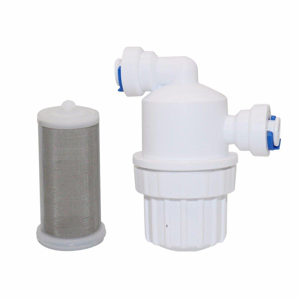 1Pcs 1/4'' Garden Water Filer Quick Access Micro-filter Water Purifier Front Stainless Steel Mesh Filters Home Garden Connectors