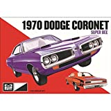 MPC 869 1970 Dodge Coronet Super Bee 1:25 Scale Plastic Model Kit - Requires Assembly