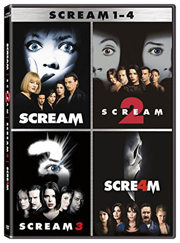 DVD : Scream Collection (Boxed Set, 4 Disc)