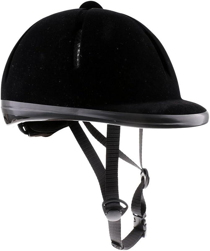 FLAMEER Casque De S/écurit/é De Cavalier /équestre De Casque D/équitation De Cheval denfants 48-54cm