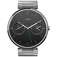 Motorola Moto 360 Light Metal Smart Watch