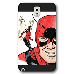UniqueBox Customized Marvel Series Case for Samsung Galaxy Note 3, Marvel Comic Hero Ant Man Samsung Galaxy Note 3 Case, Only Fit for Samsung Galaxy Note 3 (Black Frosted Case)