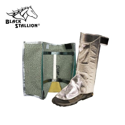 Black Stallion 78AHS 19 oz. Aluminum Carbon/Kevlar Leggings One Size