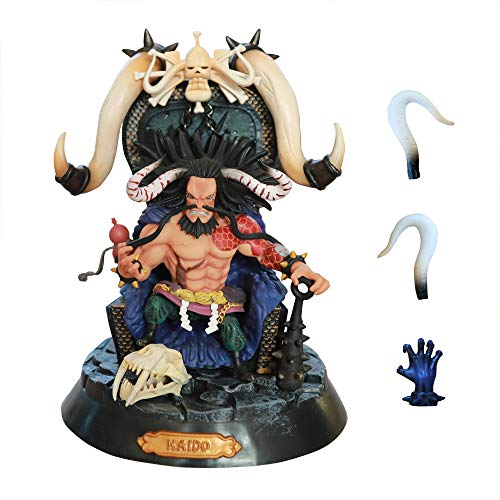 iCaptainAB One Piece Straw Hat Pirate Collectible The kaido Action Figure Four Kings