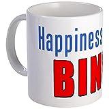 CafePress - Happiness Is Yelling Bingo Mug - Unique Coffee Mug, Coffee Cup