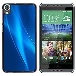 Stuss Case / Funda Carcasa protectora - Strings Of Blue Ice - HTC Desire 820