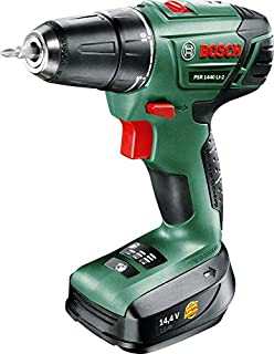 d5e4f61dd17b94 Bosch PSR 1440 LI-2 Cordless Drill Driver with 14.4 V Lithium-Ion Battery