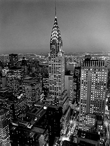 Wizard Chrysler Building New York City Photo Art Print Thick Cardstock Poster 23.5x31.5 inch