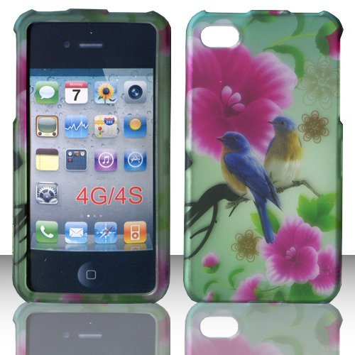 2D Twin Birds Apple Iphon iphone 4, 4S at&t. Verizon,, used for sale  Delivered anywhere in USA