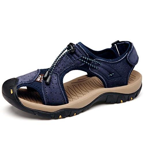 Mens Trekking Sandal Outdoors Randonnée Léger Pêcheurs Chaussures D'été Sport Sandales
