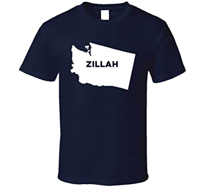 Amazon.com: Zillah Washington City Map USA Pride T Shirt: Clothing