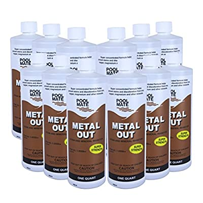 Pool Mate 1-2550 Mineral Out and Stain Remover for Swimming Pools