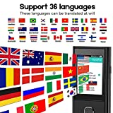 Smart Language Translator Device, Real Time Instant Two Way Translation, Voice Translator WiFi or 4G 2.4inch IPS Capacitive Touch Screen Support 36 Language for Learning Travel Business Shopping