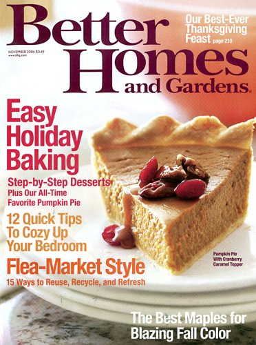 . Better Homes  amp  Gardens  Amazon com  Magazines