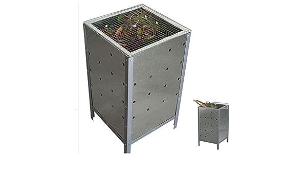 ProBache - Incinerador de jardín (cuadrado, con tapa): Amazon.es: Bricolaje y herramientas