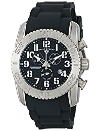 Swiss Legend Men's 11876-TI-01 Commander Analog Display Swiss Quartz Black Watch