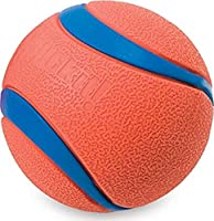 Chuckit! Ultra Dog Ball Bounces and Floats Bright Orange and Blue 5 Sizes Available