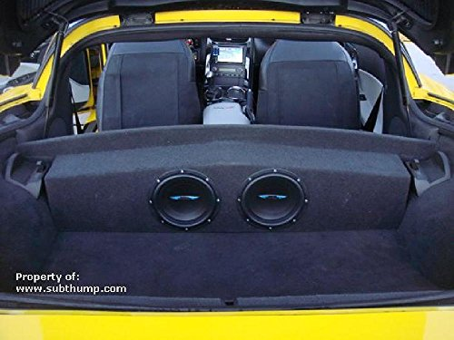 2005-2013 C6 Corvette Partition Subwoofer Box ()