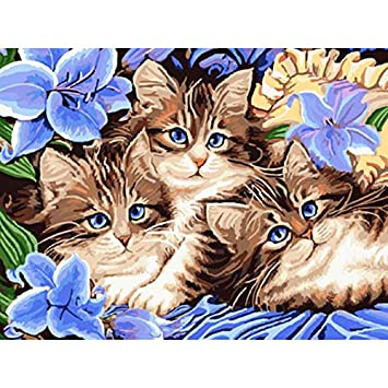 Puzzle 3D Puzzle 1000 Piezas Dibujos Animados Gatos Animales Diy Wall Art Modern Home Decor Para Wall Artwork: Amazon.es: Hogar