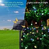 Joomer Solar Christmas Lights 72ft 200 LED 8 Modes