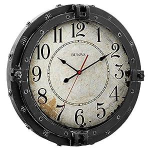 51Sp4aCV2ML._SS300_ Nautical Themed Clocks