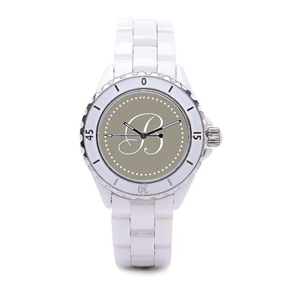 Popular lujo relojes mujer relojes deportivos Monogram mejor relojes: Amazon.es: Relojes