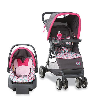 Disney Travel System - Stroller and Car Seat Minnie Mouse Bowtique Bowtiful by Generic