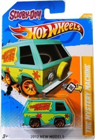 5Star-TD Scooby-DOO! The Mystery Machine Hot Wheels 2012 New Models Series #38/50 Scooby Doo Mystery Machine 1:64 Scale Collectible Die Cast Car
