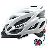 GoMax Aero Adult Safety Helmet Adjustable Road Cycling Mountain Bike...