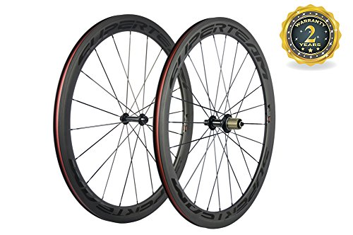 (Superteam 50mm Clincher Wheelset 700c 23mm Width Cycling Racing Road Carbon Wheel Decal (Transparent Decal))