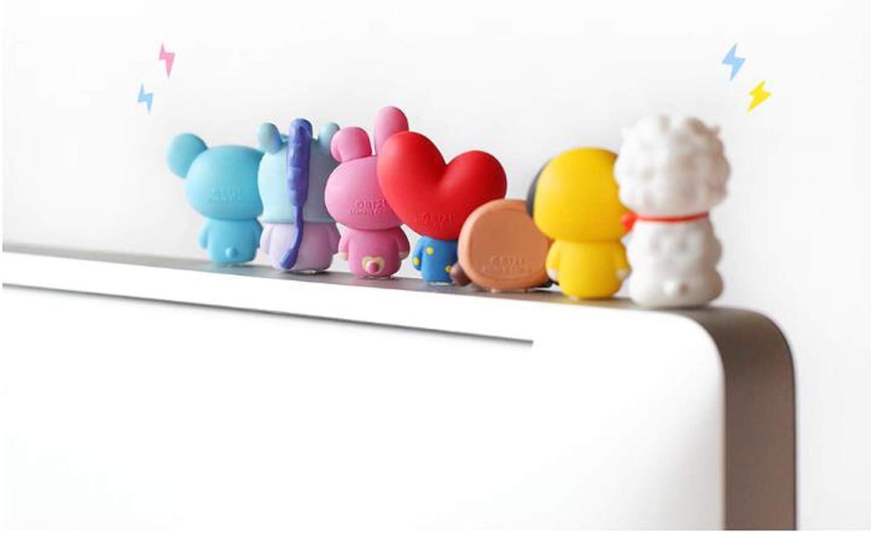 mm Figurine de Moniteur BT21 par Royche 25 x 35.5 x 43 Yellow Chimmy