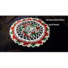 Christmas Doily Pattern, Shell Crochet, Doilies Variegated Holiday