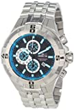 Invicta Men's 12349 Pro Diver Chronograph Black Dial Stainless Steel Watch, Watch Central