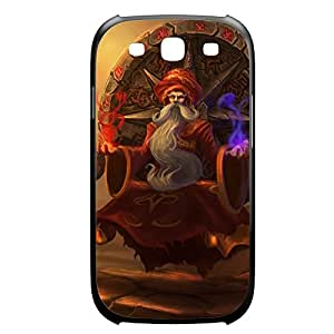 Zilean-002 League of Legends LoL case cover Iphone 4/4S Plastic Black