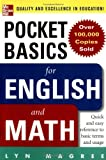 img - for Pocket Basics for Math and English book / textbook / text book